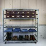 【SOLD】indasutrial steel rack