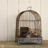 【SOLD】antique bird gage 古い鳥かご