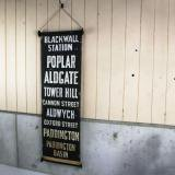 【SOLD】 old bus sign