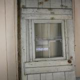【SOLD】antique wood door with window