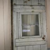 【SOLD】antique wood door with window