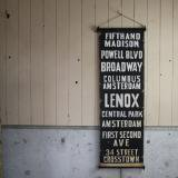 【SOLD】new york city bus sign