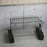 old steel box