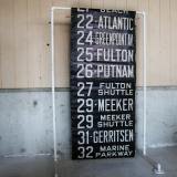 【SOLD】New york bus sign