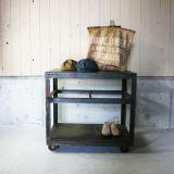Industrial movable wagon table