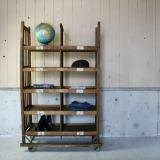 【SOLD】 antique wood rack