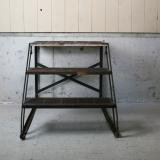 【SOLD】old steel shelf
