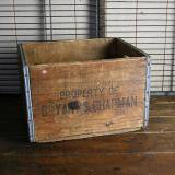 【SOLD】 antique wood box