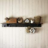 【SOLD】 antique hook shelf wood made