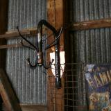 【SOLD】 antique round hat and coat stand