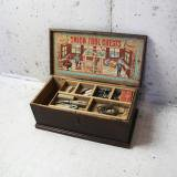 【SOLD】antique union tool chests for boys