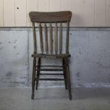 old wooden chair brown