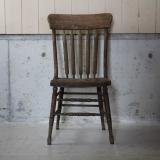 antique wooden chair brown2