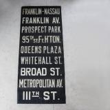 【SOLD】1930年代 ニューヨーク アンティーク バスサイン