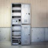 【SOLD】1940's US NAVY aluminum locker