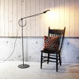 1940's industrial stand light