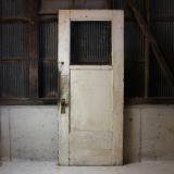 primitive white door