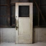 primitive white door