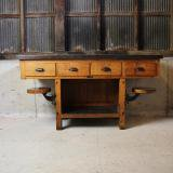 ��SOLD��1920s laboratry table