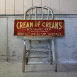 【SOLD】old ice cream store sign
