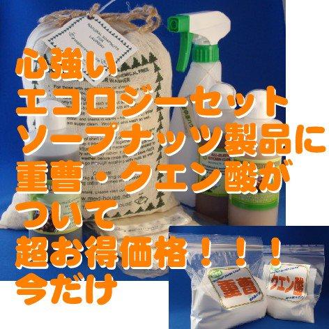 パーフェクトセット&重曹・クエン酸ナチュラルタイプ1kg入り送料無料使用方法等説明書付き