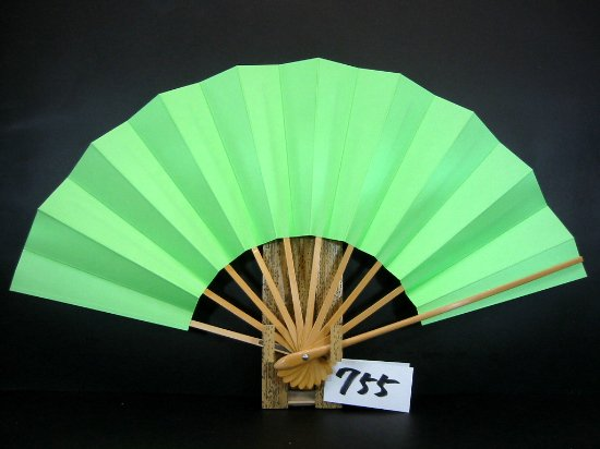 A755 舞扇子 白骨 緑地