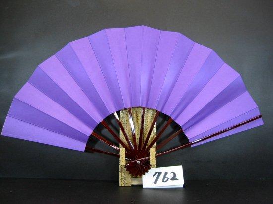 A762 舞扇子 タメ骨 紫地