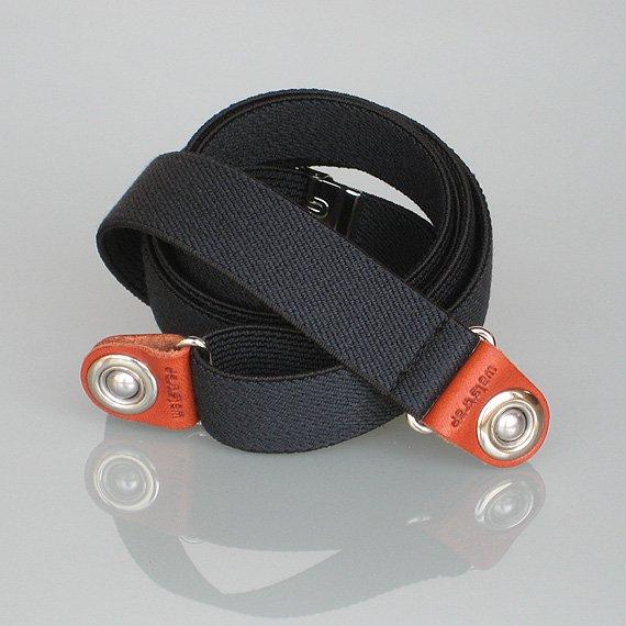 Elastic【ブラック】-- iPhone・スマホ・携帯電話ウェアラブルホルダー waistrap ベルトパーツ