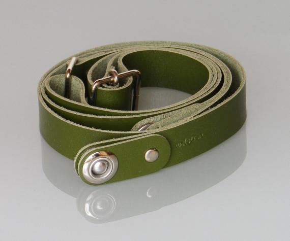 カラーSkinny(モスグリーン)-- iPhone・スマホ・携帯電話ウェアラブルホルダー waistrap ベルトパーツ(クローム…