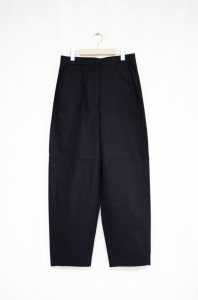 NORSE PROJECTS - Annika Cotton Twill_Trousers(Black)