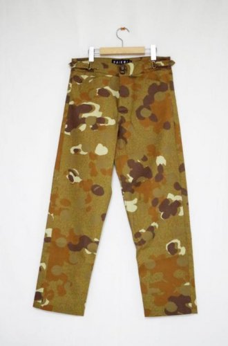 HAiK -Camo Dot Absolute Pants-Beige