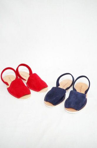 desampedoro-Flat sandals(L.Grey/Navy/Red)