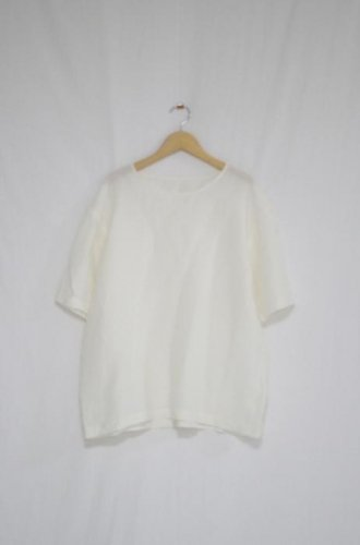 Cen_ - Pull Over Shirts(Linen White)