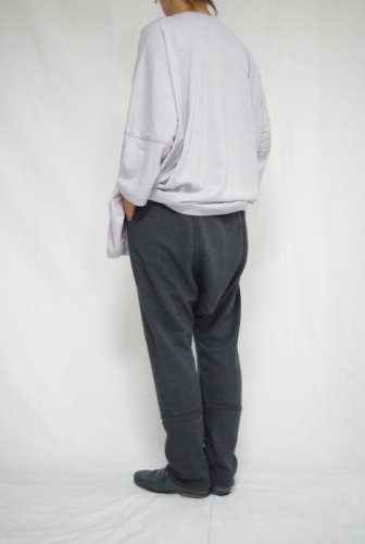 O project - Sweat Trousers(SLATE)