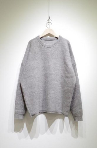 ※在庫お問い合わせ/Cen_ -UNISEX lamb wool Over sized sweater