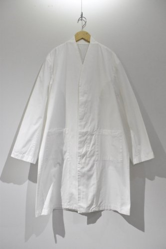 COSMIC WONDER-ORGANIC COTTON WORK COAT-unisex(White)