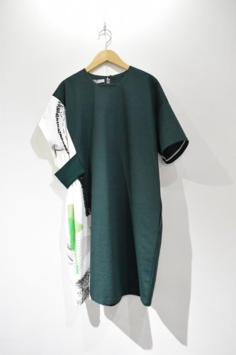 ohta - green one piece - woman