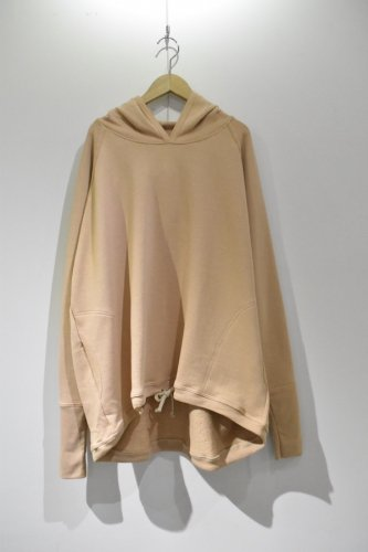 O project - WIDE FIT HOODED(BLUSH)