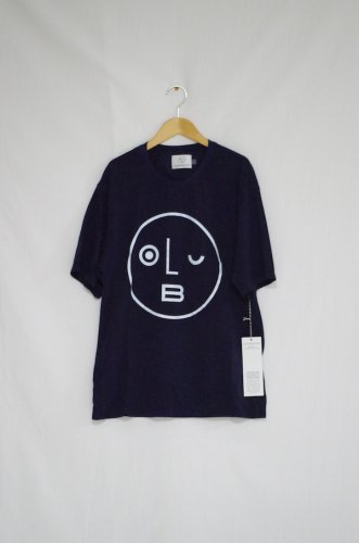 OLDERBROTHER - LOGO Tee -unisex(DARK INDIGO)