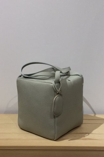 StitchandSew - square tote bag / mini (Grey)