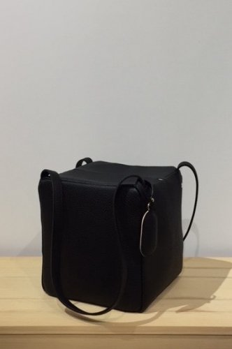 StitchandSew - square tote bag / mini (Black)