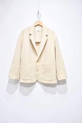 OLDERBROTHER -   Washi Wool Blazer - Khaki Café -unisex