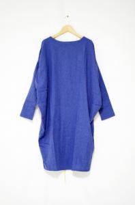 <img class='new_mark_img1' src='//img.shop-pro.jp/img/new/icons47.gif' style='border:none;display:inline;margin:0px;padding:0px;width:auto;' />emerald thirteen- Pull over Dress(Blue)