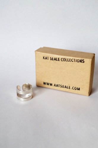 Kat Seale - Silver Cut Out Ring