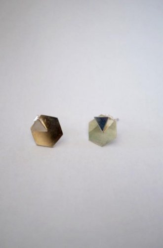 Kat Seale - 3Way Triangle + Hexagon Earring