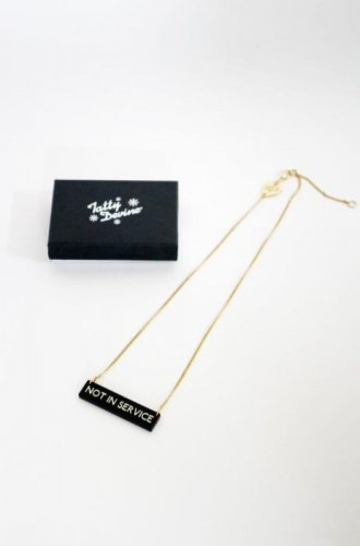 Tatty Devine-Not In Service Necklace-40%OFF