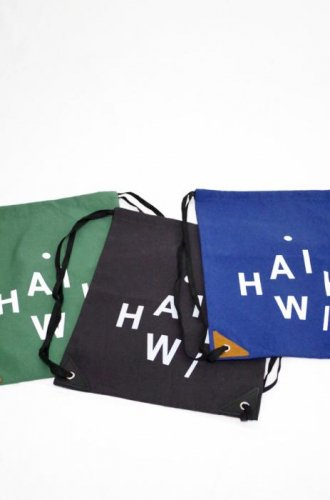 HAiK-New LOGO day pack (Green / Black / Navy)