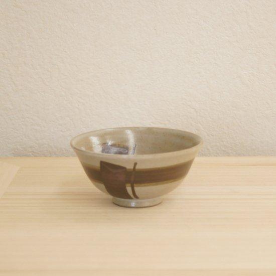 線紋飯碗 小