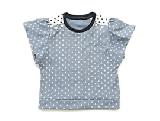 袖フリルTシャツ(製作・半日)