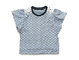 袖フリルTシャツ服(製作・半日)